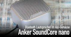 """Anker SoundCore nano: kleiner, starker Aluminium Bluetooth Lautsprecher - https://apfeleimer.de/2016/09/anker-soundcore-nano-kleiner-starker-aluminium-bluetooth-lautsprecher - Auch wenn uns beim neuen Anker SoundCore nano im Aluminium Apple Look aufgrund der Form die Bezeichnung """"Brüllwürfel"""" als erstes einfiel, wird diese Bezeichnung dem kleinen Bluetooth Lautsprecher nicht gerecht. Für seine Größe kann der SoundCore nano absolut überzeugen – vor all."""