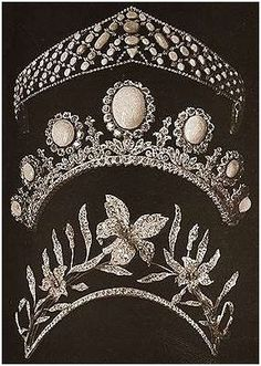 Korōnē: Three new Russian tiaras