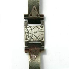 Watchcraft, Distressed Metal Bracelet, #watchcraft #distressed #metal #bracelet #mens #unisex #rustic #recycled #designer #fashion
