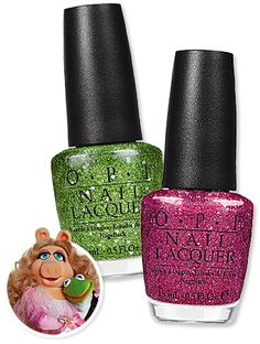 The new OPI Muppets collection!! Cant wait to get it when it comes out!