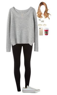 """""""1.23.17"""" by tpbradley3 ❤ liked on Polyvore featuring Dorothy Perkins, rag & bone, Converse, Kate Spade and Speck"""