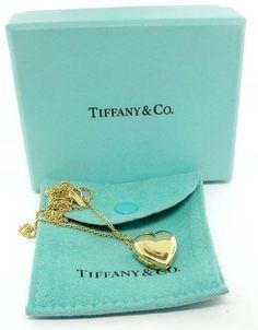 tiffany gold lockets