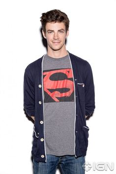 I guess he got this shirt from Melissa (Supergirl)