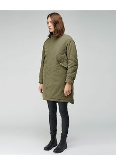 HOPE | Parka Coat | Shop at La Garçonne