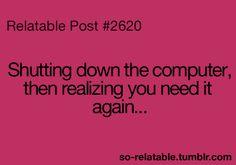 So irritating!!!