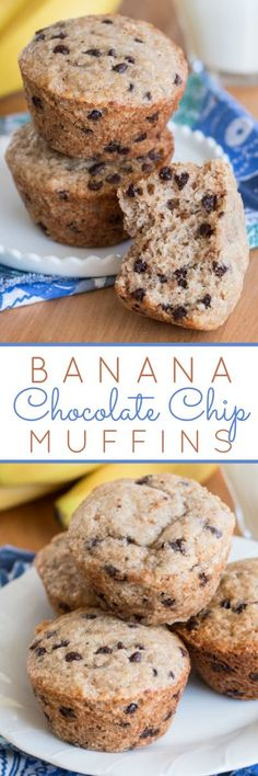 With just a hint of spice, these Banana Chocolate Chip Muffins deliver sweet banana bread goodness combined with rich chocolate decadence. This easy recipe provides new life for over-ripe bananas.