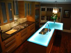 26 Best Glass Kitchen Island Images On Pinterest Countertop