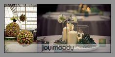 cork balls & simple table decor