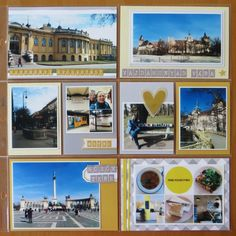 Another day of my Budapest trip - halfway through. Thanks to yellow Szechényi bath building, yellow subway and more sun throughout the day . Happy Mail, Budapest, Pocket, Mansions, House Styles, Day, Building, Merry Mail, Manor Houses