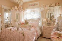 ✰ Sweety Rainy Days ☂: ♕ Princess's bedroom | shabby chic style ❤ 姫の寝室 | みすぼらしいシック ♕