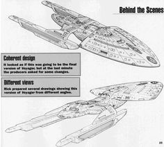 USS Voyager Concept Art