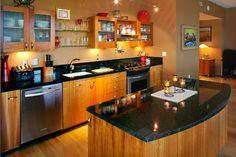 Create a Display Kitchen with One Wall Kitchen
