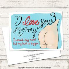Naughty Anniversary Greeting Card
