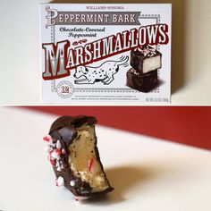 Pin for Later: 60 Peppermint-Flavored Products Ranked From Worst to Best Williams-Sonoma Peppermint Bark Marshmallow