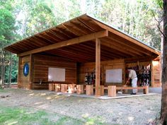 A teaching pavilion. Every kids classroom should look like this.