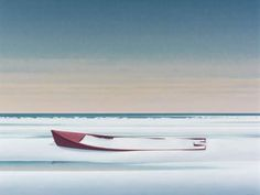 Fulford: Christopher Pratt's paintings bring out the exceptional in the everyday Christopher Pratt, Chris Pratt, Landscape Art, Landscape Paintings, Mary Pratt, Order Of Canada, Atlantic Canada, Glasgow School Of Art, Magic Realism