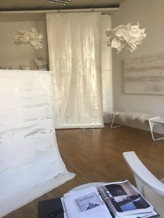 Minimalism, Curtains, Home Decor, Stone, Blinds, Decoration Home, Room Decor, Draping, Home Interior Design