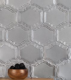 Moresque's majestic decorative tiles come along with various shapes and sizes of field tile, trim and architectural moldings. Moresque's alluring spectrum is composed of 12 beautiful and timeless colors.