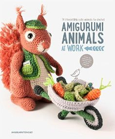 Amigurumi Animal Patterns included in this book:  mining mole  construction worker beaver  lobster chef with pots, pans, and ingredients  sloth  firefighter fox  monkey clown  firefighter hippo with a fire hydrant and hose  chicken baker with cookies, coo