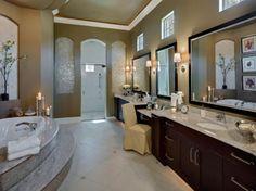 Glamorous Bathroom With Granite