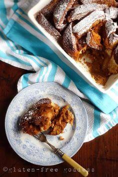 Gluten-Free Goddess® Pumpkin Bread Pudding Pumpkin Inspired : Bread Pudding Don't ask me where the craving...