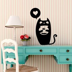 black cat wall sticker; you can find it here: http://www.adesivimurali.com/index.php?route=product/product=89_id=1454