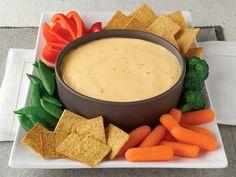 VELVEETA® Zesty Ranch Dip recipe - so good. In a pinch I only use Velveeta cheese and Ro-tel. Kraft Recipes, Dip Recipes, Cooking Recipes, Recipies, Frosting Recipes, Yummy Recipes, Healthy Recipes, Appetizer Dips, Appetizer Recipes
