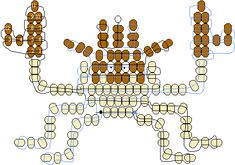 kingler gif image Pony Bead Patterns, Beading Patterns, Emma Carstairs, Pony Bead Crafts, Pony Beads, Family Gifts, Projects For Kids, Jewelry Art, Activities For Kids