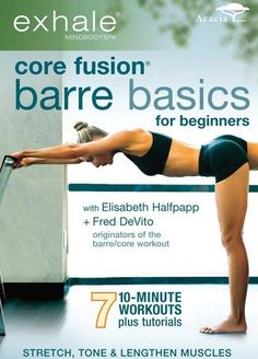 Exercise For Beginners Karen busts out of a workout slump by trying an entirely new type of exercise for her! - Quick results from a beginner barre routine in the Core Fusion Barre Basics for Beginners workout DVD brought Karen out of her workout slump. Pilates Workout, 10 Minute Workout, Barre Workouts, Cardio, Workout Dvds, Pilates Barre, Week Workout, Chest Workouts, Best Home Workout Videos