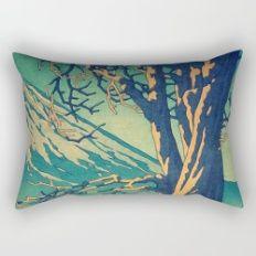 Late Hues at Hinsei Rectangular Pillow