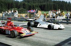 1974 Carlos Reutemann & Niki Lauda