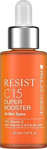 Paula's Choice C15 Super Booster Vitamin C Serum with 15% Vitamin C, Vitamin E, Ferulic Acid