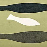 Breon O'Casey - Three Fish in Green