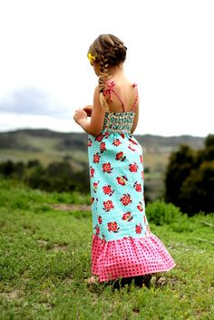 Girl's Maxi Dress pattern