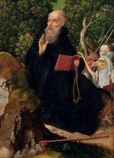 The Penitence of Saint Jerome Joachim Patinir (Netherlandish, active by died detail. Orazio Gentileschi, Paintings Of Christ, St Jerome, Academic Art, Les Themes, European Paintings, Sea Art, Renaissance Art, Triptych