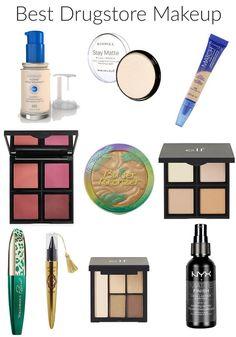 Favorite Drugstore Makeup 2017
