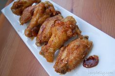 Sweet Korean Chicken Wings--Tried and True...excellent wing recipe...but if nothing else just make the sauce...so incredible