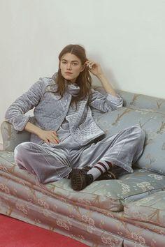 Hayden Velvet Pants, Quarry