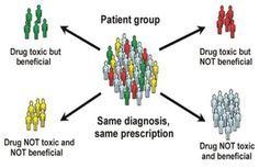 Pharmacogenomics is a biotechnological science that combines the techniques of medicine, pharmacology, and genomics and is concerned with developing drug therapies to compensate for genetic differences in patients which cause varied responses to a single therapeutic regimen. Patient-drug interaction is a complex trait influenced by many genes.