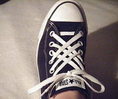 How to tie your shoes cool with these 5 fun and creative lacing techniques! Jazz up an old pair of shoes the easy way. I especially love these shoe lace tips for Converse.