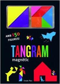 El Tangram és un antic joc popular xinès que consisteix a reproduir diferents formes utilitzant set peces geomètriques de diferents formes i colors. Un joc didàctic i educacional que ajuda els nens a desenvolupar la la imaginació i la percepció visual, així com a millorar les habilitats d'observació, abstracció i creativitat. Tangram, Magnets, Road Trip, Vacation, Products, Children's Books, Authors, Pole Star, Literatura