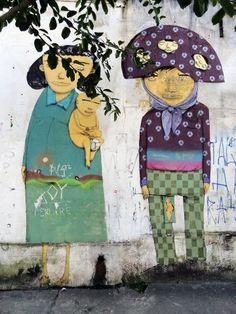 Bairro da Liberdade em São Paulo by Gemeos.
