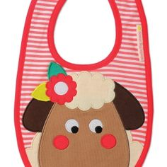 Sheila the Sheep Bib by Olive & Moss