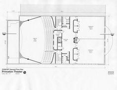 Princeton Theater second floor plan