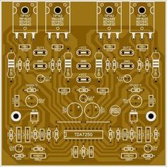 Amplificador com Bias Automático com CI - Electronics Projects, Hobby Electronics, Electronic Circuit Projects, Amplificador 12v, Circuit Board Design, Hifi Amplifier, Electronic Schematics, Powered Subwoofer, Circuit Diagram