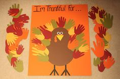Keeping up with the Kiddos: Our Thankful Turkey