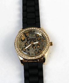 schandra animal print watch
