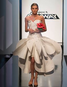 I loved this! | BuddyTV Slideshow | 'Project Runway' Season 14: Ranking the Looks of 'It's All in the Cards'
