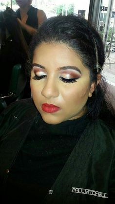 Bollywood makeup for traditional  Indian wedding  #makeup #Bollywood #indianwedding #cutcrease #mua #makeupartist