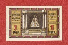 Germany Dalhausen 1 mark mk 1921 banknote notgeld Kreis Hoxter